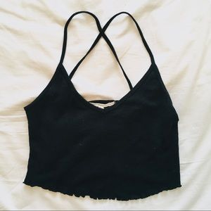 Truly Madly Deeply Cross Back Tank Top